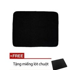 Hình ảnh Túi chống sốc laptop 14 inch (Đen) +Tặng miếng lót chuột
