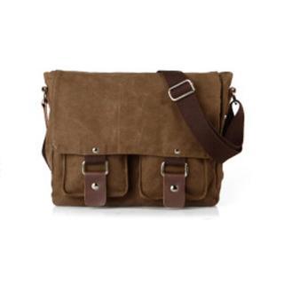 Túi chống sốc máy ảnh thời trang Muchuan Canvas 2101 đeo hông (nâu cafe) thumbnail