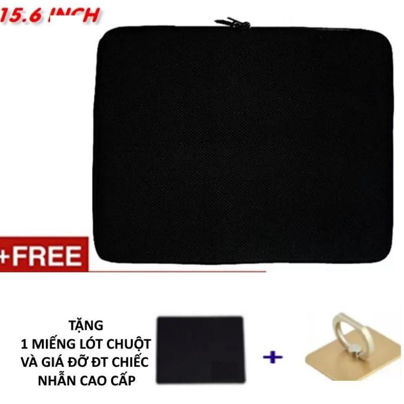 Bảng giá Túi Chống Sốc Tiện Lợi Cho Laptop 15.6 Inch (đen) + tặng bàn di chuột và giá đỡ cao cấp Phong Vũ