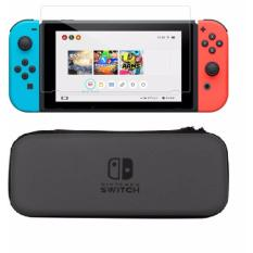 Hình ảnh Túi du lịch bao đựng máy + Miếng Dán Cường Lực Nintendo Switch