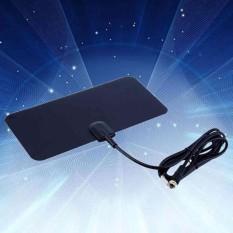 Anten TIVI Trong Nhà HDTV DTV Hộp Thiết Kế Phẳng 5dB Tăng supportsUHF/VHF tín hiệu-quốc tế