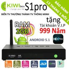 Ôn Tập Trên Tv Box Kiwi S1 Pro 4K 2Gb Ram 2018 Tặng Tk Vip 999 Năm