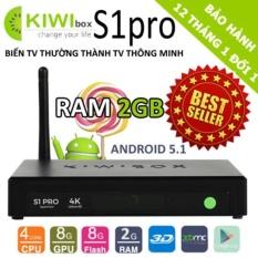 Ôn Tập Tốt Nhất Tv Box Kiwi S1 Pro 4K 2Gb Ram Khuyễn Mai Chuột Wifi