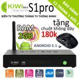 Bán Tv Box Kiwi S1 Pro Ram 2Gb 4K Android 6 Tặng Chuột 180K Rẻ Nhất