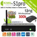 Tv Box Kiwi S1 Pro 4K Ram 2Gb Tặng Minikeyboad 300K Nguyên