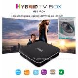 Ôn Tập Tv Box Mecool Pro Plus 2G Ram Android 7 1 1 Tặng Chuột Logitech M100R Trị Gia 110 000 Vnđ