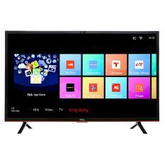 Smart TV LED TCL 32inch HD - Model L32S62 (Đen) - Hãng phân phối chính thức