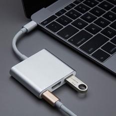 Thiết Bị Chuyển đổi Usb Type-C Sang Usb-C Usb 3.0 Hub Adapter Dành Cho Dây Cáp Macbook By Kingox Store.
