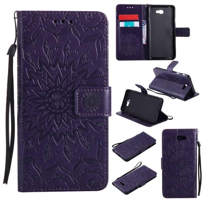 Ueokeird Fashion Sunflower Protective Stand Wallet Purse Credit Card ID Holders Magnetic Flip Folio TPU Soft