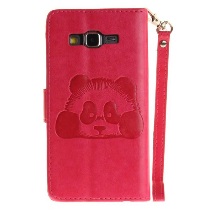 Ueokeird Panda Protective Stand Wallet Purse Credit Card ID Holders Magnetic Flip Folio TPU Soft Bumper