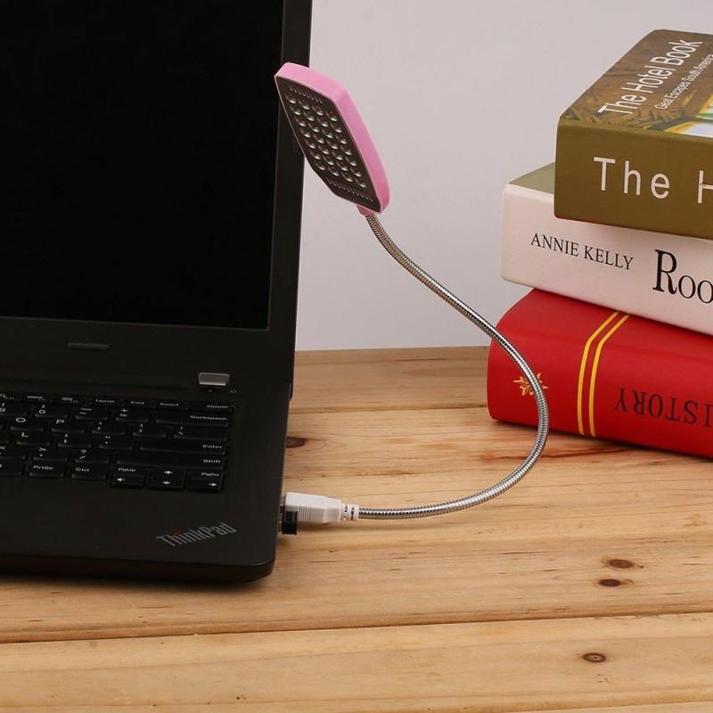 Bảng giá UINN Sáng 28 LED USB Mini Dẻo Máy Tính Đèn Laptop Bàn Đọc Sách pibk-quốc tế Phong Vũ