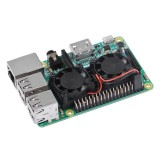 Bán Ultimate Dual Cooling Fan Kit Module For Raspberry Pi 3B 2B No Pi Intl Hong Kong Sar China