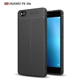 Giá Bán Da Sieu Mỏng Hoa Văn Tpu Mềm Mại Ốp Lưng Danh Cho Huawei P8 Lite Mau Đen Quốc Tế Moonmini Mới