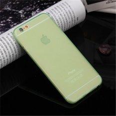 Siêu mỏng Frosted Tpu Ốp Lưng Dẻo Silicone Cho iPhone 6 Plus/6 s Plus (Xanh) -quốc tế