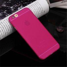Siêu mỏng Frosted Tpu Ốp Lưng Dẻo Silicone Cho iPhone 6 Plus/6 s Plus (Hồng) -quốc tế