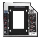 Đa năng 2.5 2nd 9.5 mét Ssd Hd SATA Ổ Đĩa Cứng HDD Adapter Bay - quốc tế