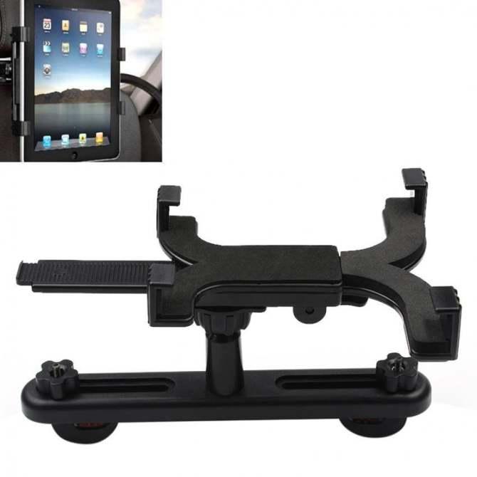 Hình ảnh Universal Car Back Seat Headrest Mount Holder Stand Bracket Kit 7-13 Inch For Pad Tablet - intl