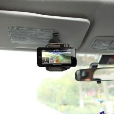 Hình ảnh Đa năng Tấm Che Nắng Ô Tô Điện Thoại Gắn Giá Đỡ Đứng Chân Đế Điều Hướng Giá Đỡ Điện Thoại Xoay 360 độ Cho Điện Thoại Di Động Điện Thoại ĐỊNH VỊ GPS -quốc tế