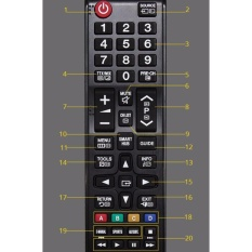 Bảng giá Remote Control Controller Replacement for Samsung HDTV LED Smart TV - intl