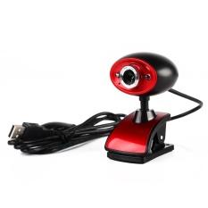 Hình ảnh USB 16MP HD Webcam Camera có MIC cho Máy Tính PC Laptop (Đen)-quốc tế
