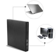 Hình ảnh USB 2.0 External DVD/CD-RW Drive Burner Slim Portable Driver For Netbook MacBook Laptop Desktop - intl