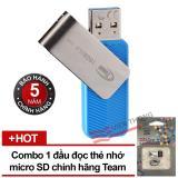 Mã Khuyến Mại Usb 3 16Gb Team Group C143 Xanh Đầu Đọc Thẻ Nhớ Team Microsd Hang Phan Phối Chinh Thức Team