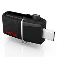 USB 3.0 OTG Giao Diện Kép SanDisk Ultra 16GB với microUSB cho Android (Màu Đen)