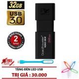 Giá Bán Usb 3 32Gb Kingston Datatraveler 100 G3 Đen Chinh Hang Tặng Đen Led Kingston Nguyên