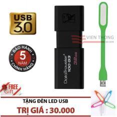 Bán Usb 3 32Gb Kingston Datatraveler 100 G3 Hang Phan Phối Chinh Thức Tặng Đen Led Rẻ Trong Hồ Chí Minh