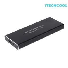 Hình ảnh USB 3.0 HDD M.2 NGFF SANG USB3.0 SSD SATA Di Động Đĩa Hộp (Chỉ là một hộp) - quốc tế