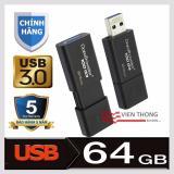 Usb 3 64Gb Kingston Datatraveler 100 G3 Đen Hang Phan Phối Chinh Thức Vietnam Chiết Khấu 50