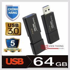 Usb 3 64Gb Kingston Datatraveler 100 G3 Đen Hang Phan Phối Chinh Thức Rẻ