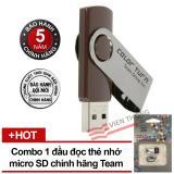 Mua Usb 32Gb Taiwan Team Group Inc E902 Nau Đầu Đọc Thẻ Nhớ Team Microsd Tr11A1 2 Trắng Đen Team Trực Tuyến