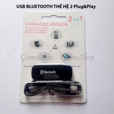 Usb Bluetooth Audio Receiver Thế Hệ 2 Plug Play Đen Chiết Khấu Vietnam