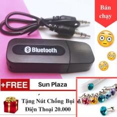 Usb Bluetooth - Usb thu Bluetooth - Biến Loa THƯỜNG thành Loa BLUETOOTH - Tặng nút chống bụi tai nghe hình kim cương  Sun Plaza