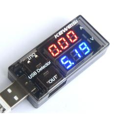 Máy Bộ Dò điện áp Dòng điện Sạc USB-Quốc Tế Giá Tốt Không Nên Bỏ Qua