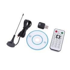 Hình ảnh USB Đầu Thu Kỹ Thuật Số DVB-T TV Cùng Gậy Điều Hướng And Dongle OSD MPEG-2 MPEG-4 Dành Cho Laptop MÁY TÍNH-Quốc Tế