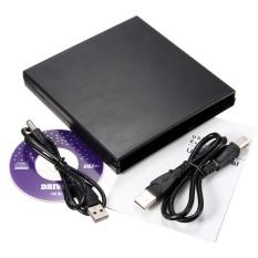 USB IDE Laptop Notebook CD DVD RW Đốt ROM Ổ Ngoài Ốp Lưng Kèm Caddy-quốc tế
