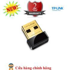 USB kết nối Wi-Fi TP-LINK TL-WN725N Chuẩn N 150Mbps Siêu nhỏ gọn - Hàng Nhập Khẩu