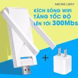 Giá Bán Usb Kich Song Wifi Mercury 2 Anten Tặng Cốc Nguồn Mercury