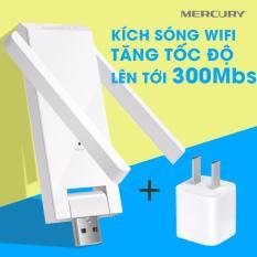 Bán Usb Kich Song Wifi Mercury 2 Anten Tặng Cốc Nguồn Nhập Khẩu