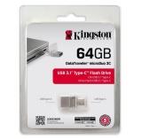Bán Usb Kingston Otg Dt Microduo 3C Usb 3 1 Type C 64Gb Bạc Kingston Có Thương Hiệu