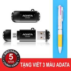 Ôn Tập Usb Otg 32Gb Adata Ud320 Black Tặng Viết Adata