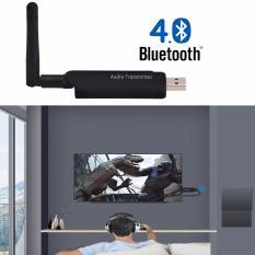 Hình ảnh USB Bluetooth 4.1 BP05 phát âm thanh từ tivi, laptop tới amply, loa, tai nghe bluetooth (Đen)
