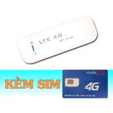 Ôn Tập Usb Phat Wifi 4G Lte Dongle Kết Nối 10 Thiết Bị Cung Luc Sim 4G Mobifone 9Gb Thang Dongle
