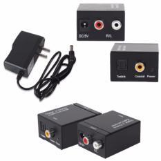 Hình ảnh Bộ chuyển âm thanh TV 4K quang optical sang audio AV ra amply kèm cáp optical 1m