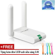 USB Thu WiFi TP-Link TL-WN822N + Tặng đèn LED usb mã L01