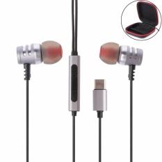 Ôn Tập Usb Loại C Tai Nghe Nhet Tai In Ear Headphone Hi Fi Kỹ Thuật Số 3D Am Thanh Co Mic Cho Moto Z Htc U11 Quốc Tế Trong Trung Quốc