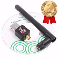 Hình ảnh USB Wifi - USB thu sóng Wifi cho máy tính để bàn có Anten