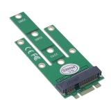 green ngff m2 B SATA dựa trên Solid State Drives để msata adapter chuyển đổi thẻ